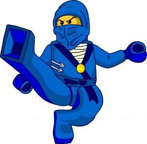 NinjaMinifigBlue