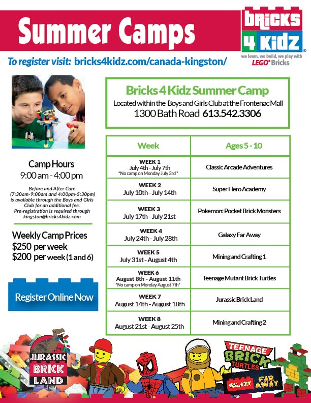 Summer Camp Bricks Kidz Canada Kingston - 10 amazing summer camps for adults in canada
