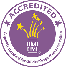HIGH FIVE Acreditied logo