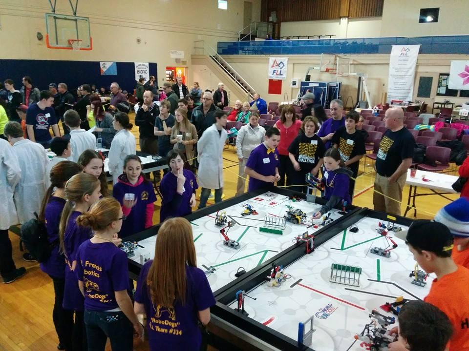 Bricks 4 Kidz Contributes To Fll Nl Robotics Competition St Johns