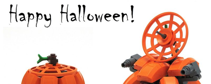 4 Fun Halloween Projects that use LEGO Bricks