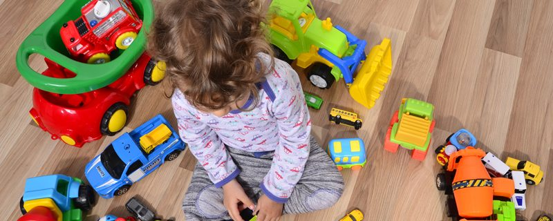 How to get kids on board with purging old toys