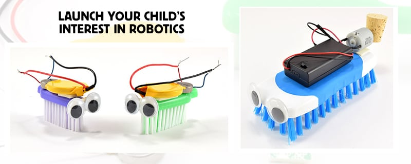 Have fun with robotics building at home